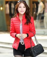 winter Warm jacket 2014 new women's winter coat fashion ladies padded collar Slim women Down jacket