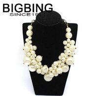 BigBing fashion jewelry fashion pearl necklace choker Necklace fashion jewelry set wholesale jewelry K331