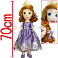 2014NEW cartoon Sofia Princess dolls plush toys Sofia the First princess sofia doll plush toys girls Gift Christmas Gift