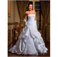 Free shipping  High Quality Design Handmake Flower Formal Occasion Wedding Bridal Dress With Applique Pleat Wedding Dress