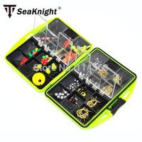 SeaKnight Brand Rock Fishing Accessories Box Surf Casting fishing tackle box Swivel Jig Hooks fishing tools set