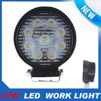 27W LED Work Light Flood Lamp ATV SUV OFFROAD Car Boat Jeep Truck 12V 24V Round