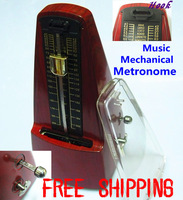 High Quality Pyramid Mechanical Metronome with Bell Music Intrument Accessories Triangle Music Mechanical Metronome Metal Core