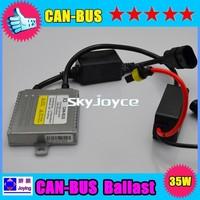 2 Piece a lot Super version 35W EMC and Warning canceller HID canbus xenon ballast X3A Error free hid xenon ballast