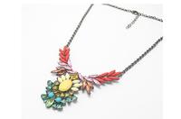 2014 new fashion romantic retro gem necklace  A85