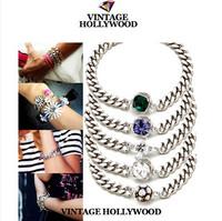 VINTAGE HOLLYWOOD all-match bracelet kors bracelet fashion bracelet strass bracelet jewelry charm bracelets for women