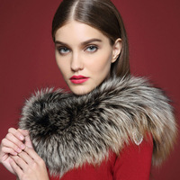 2014 Fashion Woman Scarf,  Winter Warm Fox Fur Collar, Big Brand Fur shawl, Luxury mex, Winter Scarf Fox fur, Free Shipping,mp59