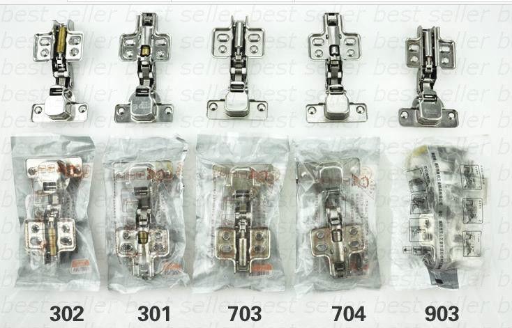 free shipping 1pcs Stainless Steel Fixed Two-way Wardrobe Cabinet Hinge Inset Overlay 105(China (Mainland))