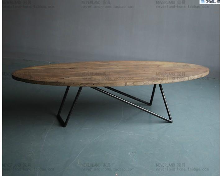 Nouveau style loft de meubles design table basse en bois for Table basse style loft