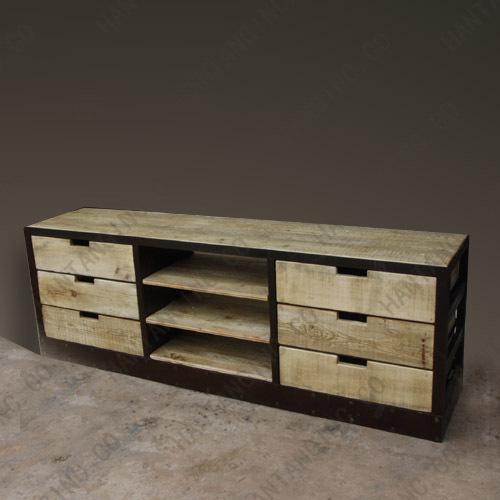 Mode r tro europ enne en fer forg meubles tables en fer for Meuble bureau en fer