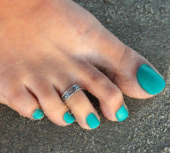 Знаменитости ретро серебряный резьба носок кольцо регулируемый опорное кольцо пляж ювелирные изделия античная ноги пляж аксессуары и украшения знаменитости в челябинске