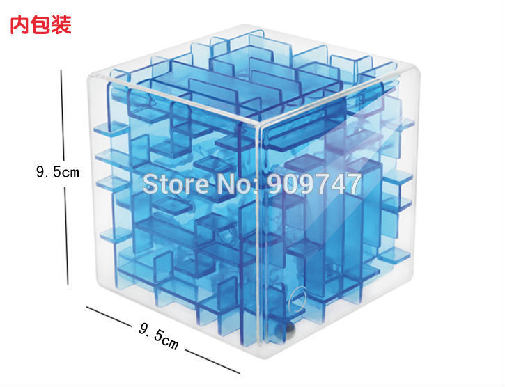 Three-dimensional magic cube maze labyrinth rolling ball balance game activity toy unique new design(China (Mainland))