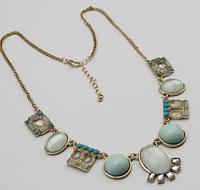2014 new fashion romantic retro gem necklace  A77