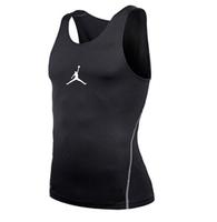KB Mens Slim Training Vest Clothing Swimwears Pro Sport Spandex Rash Guard Men Basketball Sweat Quick-Drying Sleeveless Weskit