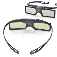 New Original Bluetooth 3D Glasses Active Shutter Glasses for 3D TV HDTV Blue-ray Player P0009112