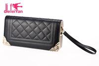 New Arrival women's wallets leather purse fashion clutch wallet change purses lady purse  women  wallet