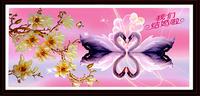 wedding gift swan animal Diy diamond painting square diamond  drill resin diamond embroidery painting free shipping