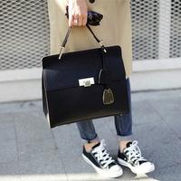 2014 new retro Korean style   brief  women's handbag casual shoulder bag famous brand Messenger bag
