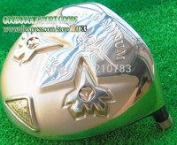 New Original Golf Clubs Heads Grand prix got-2 Golden Golf Driver Head 10.5 or 9.5 lot Club Driver EMS Free Shipping