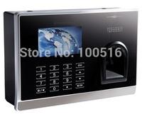 TCP/IP ID Card Reader+Fingerprint Time Recording Machine