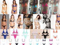 2015 The latest variety of brand swimwear sexy triangle bikini swimwear women brazilian bikinis set free shipping DST-888