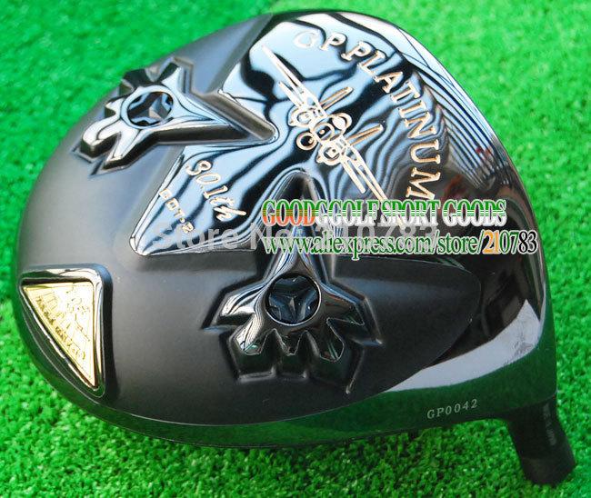 New Original Golf Clubs Head Grand prix got-2 black Golf Driver Heads 10.5 or 9.5 lot Driver EMS Free Shipping(China (Mainland))
