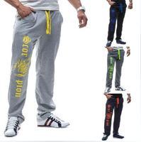 2014 new  spring and autumn men's winter bright personality scorpion printing leisure sports elastics