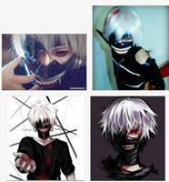 1Pcs Tokyo Ghoul Kaneki Ken Mask Halloween Party Adjustable Cosplay Mask Zipper PU Leather Mask Hot Sale 673299