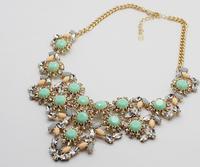 2014 new fashion romantic retro gem necklace  A80