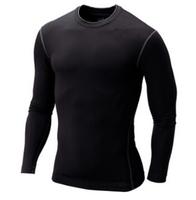 Mens Tops Long Sleeve  rashguard Training Clothing Swimwears Pro Sport Spandex Rash Guard Fitness Surf suit Men Shirt Swim