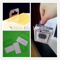 price adhesive tag  shipping 1000 pcs/lot 45*35mm  Adhesive Euro Plastic  Hang Tab for supermarket