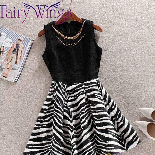 New 2015 Casual Dress Spring Dress Women Sleeveless Tank Dress Rivet Party Dresses Slim Elegant Vintage Stripes PH2485(China (Mainland))