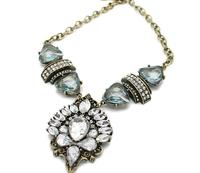 2014 new fashion romantic retro gem necklace  A88