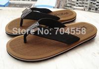 New 2014 summer Plastic sandals size(40-44)red+black+brown+khaki Non-slip breathable men's sandals fashion rubber men's flats