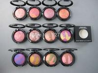 2 pcs / lot brand makeup rouge cheap wholesale baking powder blush / rouge 3.5g mineralize drop ship Free Shipping