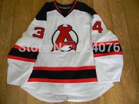 2010-11 PLL Leblond Jersey #34 Albany Devils Jerseys Red White Jersey