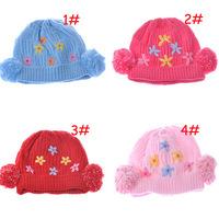 AliExpress money selling children's winter hat winter hat girls gardenia children a generation of fat children knitted hat