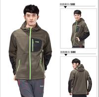 New 2014 warm winter jacket men Outdoor Hood Warm Windproof & Waterproof Causal Coat Men's Jacket 3 Colors Size:S M L XL XXL
