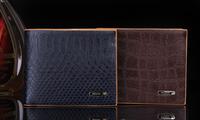 Promotion ! ! High Quality Men Wallet Fashional no zipper Purse Brand coin purse