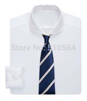 2015 New style Custom made men white 100% Cotton shirt Business casual men slim Fit shirt