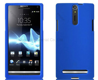 1000 pcs/lot Silicone Rubber Skin Case Cover for Sony Xperia S LT26i