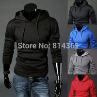 2014 New Man Hoody Casual Mens Brand Sports Suit Chandal Fleece Hoodie Jackets Sportswear Winter Men Sweatshirt Free Shipping