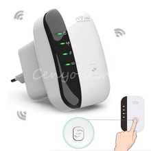NEW EU Plug Wireless N 802.11N/B/G WPS 300Mbps WiFi Repeater Network AP Router Range Signal Expander Booster Extend Amplifier