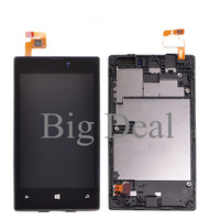 LCD+Touch Screen Digitizer Complete With Frame For Nokia Lumia 520 N520 LCD Assembly Replacement Test Before Shipping