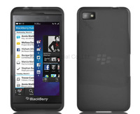 200 pcs/lot TPU Gel Rubber Skin Case Cover for Blackberry Z10