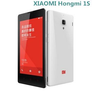 Original XIAOMI hongmi 1s MSM8228 Quad Core CDMA 2000 Mobile Phone 4.7 Inch 1280x720 pixels 1GB 8GB ROM Xiaomi Red Rice 1S(China (Mainland))