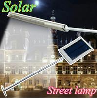5pcs/lot Solar Street Lamp Outdoor Lighting Solar Powered Panel LED Pathway  Wall Lamp Solar Spot Lights LED Road Light Sunlight