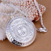 P176 Free Shipping 925 sterling silver Necklace, 925 silver fashion jewelry Fashion Pendant /bbbajsia emrandya
