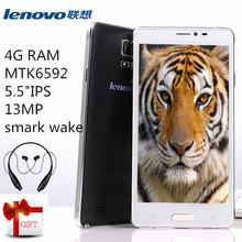 Hot sale Lenovo phone 3G GPS 2G RAM 20G ROM Octa core MTK6592 5.0 IPS 1920*1080 8M