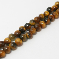 2014 New arrival 4mm Tigereye Round Beads Natural 15'' Jewelry Beads BTB104-13